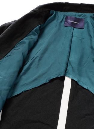 - Johnundercover - Contrast trim chevron stripe blazer