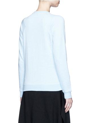 Back View - Click To Enlarge - KENZO - 'Curvy Lines' embellished sweatshirt