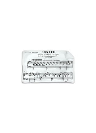 Main View - Click To Enlarge - Fornasetti - Diagramma Musicale Beethoven large sheet ashtray