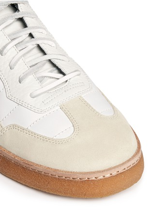 Detail View - Click To Enlarge - Alexander Wang  - 'Eden' leather and suede low top sneakers