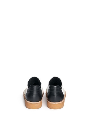 Back View - Click To Enlarge - Alexander Wang  - 'Eden' leather and suede low top sneakers