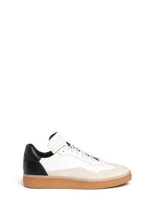 Main View - Click To Enlarge - ALEXANDER WANG - 'Eden' leather and suede low top sneakers