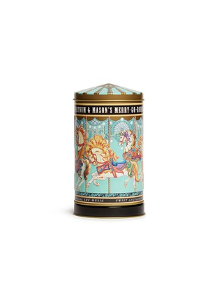 Main View - Click To Enlarge - Fortnum & Mason - Mini Merry-Go-Round musical biscuit tin