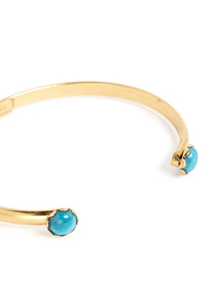 Detail View - Click To Enlarge - Ela Stone - 'Ana' stone slim cuff