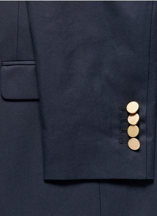 Detail View - Click To Enlarge - Valentino - Cotton twill blazer