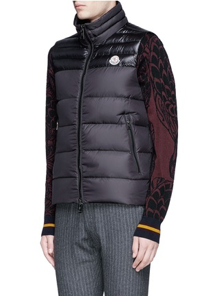 Front View - Click To Enlarge - Moncler - 'DUPRES' QUILTED DOWN VEST'