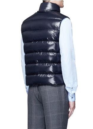 Back View - Click To Enlarge - MONCLER - 'Tib' down vest