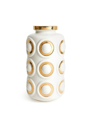 Main View - Click To Enlarge - JONATHAN ADLER - Futura circles vase
