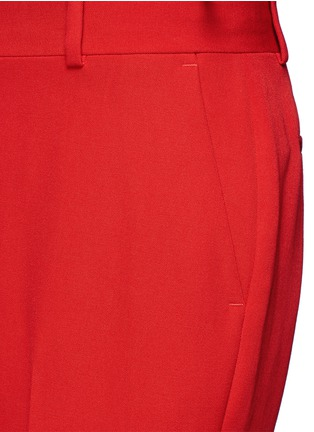 Detail View - Click To Enlarge - GIVENCHY - Wool grain de poudre pants