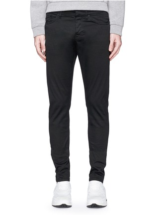 Detail View - Click To Enlarge - Balenciaga - Stretch cotton gabardine pants