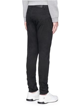 Back View - Click To Enlarge - Balenciaga - Stretch cotton gabardine pants