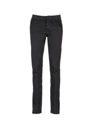 Main View - Click To Enlarge - Balenciaga - Stretch cotton gabardine pants