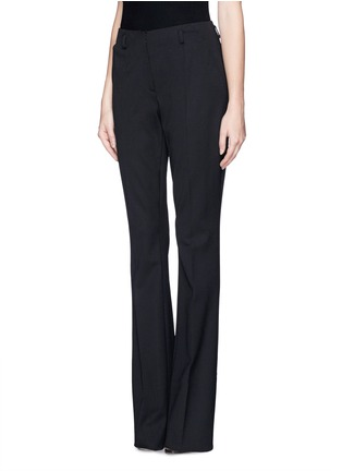 Front View - Click To Enlarge - JASON WU - Wide leg wool blend pants