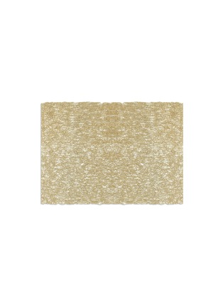 Main View - Click To Enlarge - Chilewich - METALLIC LACE RECTANGLE PLACEMAT