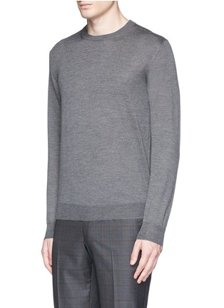 Front View - Click To Enlarge - ISAIA - Cashmere-silk sweater