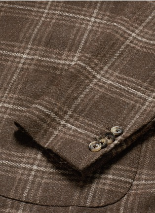 - ISAIA - 'Sailor' check wool blazer
