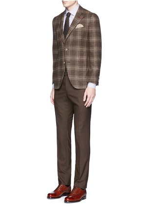 Figure View - Click To Enlarge - ISAIA - 'Sailor' check wool blazer