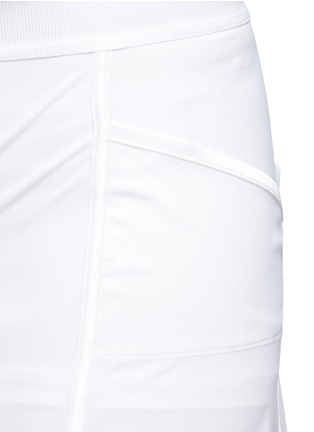 Detail View - Click To Enlarge - Monreal London - 'Back Flip' pleat back stretch skirt