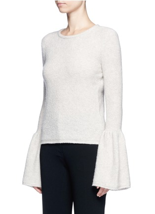 Front View - Click To Enlarge - Co - Bell cuff cashmere bouclé sweater
