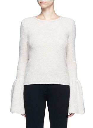 Main View - Click To Enlarge - Co - Bell cuff cashmere bouclé sweater