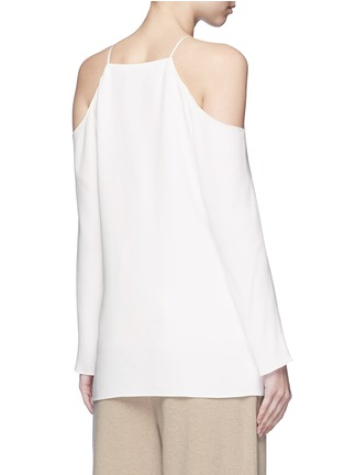 Back View - Click To Enlarge - The Row - 'Krauss' cold shoulder top