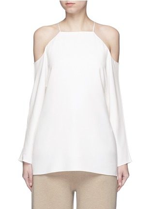 Main View - Click To Enlarge - The Row - 'Krauss' cold shoulder top