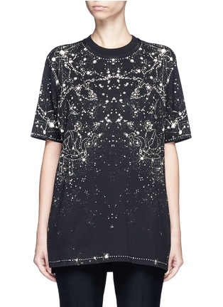 Main View - Click To Enlarge - Givenchy Beauty - Constellation print cotton T-shirt
