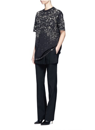Figure View - Click To Enlarge - Givenchy Beauty - Constellation print cotton T-shirt