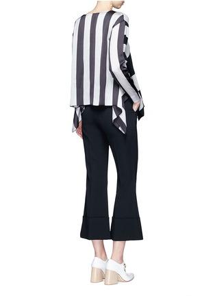 Figure View - Click To Enlarge - STELLA MCCARTNEY - Stripe silk cashmere-wool combo sweater