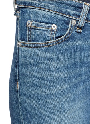 Detail View - Click To Enlarge - rag & bone/JEAN - 'Capri' cropped skinny jeans