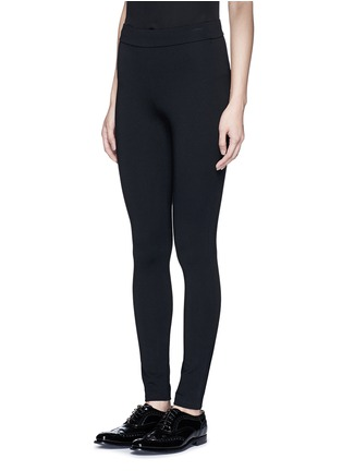 Front View - Click To Enlarge - Theory - 'Shawn C' ponte knit jersey leggings
