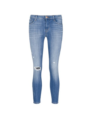 Main View - Click To Enlarge - J BRAND - '835' distressed cropped jeans
