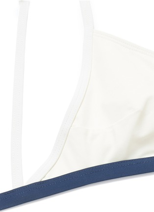 Detail View - Click To Enlarge - Flagpole Swim - 'Casey' cutout back triangle bikini set