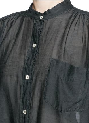 Detail View - Click To Enlarge - Isabel Marant Étoile - 'Lixy' cotton-silk shirt