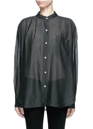 Main View - Click To Enlarge - Isabel Marant Étoile - 'Lixy' cotton-silk shirt