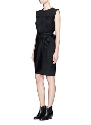 Figure View - Click To Enlarge - Isabel Marant Étoile - 'Neo' rouleau loop button shoulder top