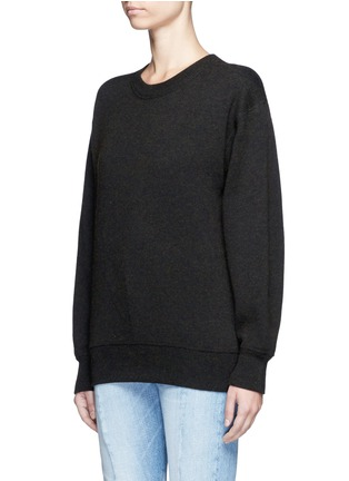 Front View - Click To Enlarge - Isabel Marant Étoile - 'Benton' cotton-wool sweater