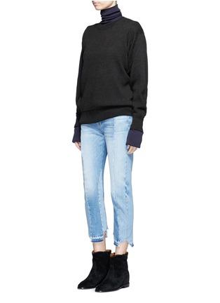 Figure View - Click To Enlarge - Isabel Marant Étoile - 'Benton' cotton-wool sweater