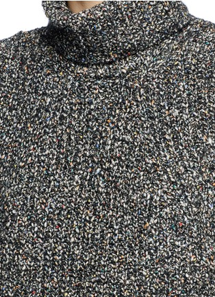 Detail View - Click To Enlarge - Isabel Marant Étoile - 'Haway' turtleneck chunky knit vest