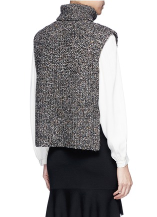 Back View - Click To Enlarge - Isabel Marant Étoile - 'Haway' turtleneck chunky knit vest
