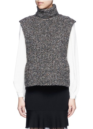 Main View - Click To Enlarge - Isabel Marant Étoile - 'Haway' turtleneck chunky knit vest