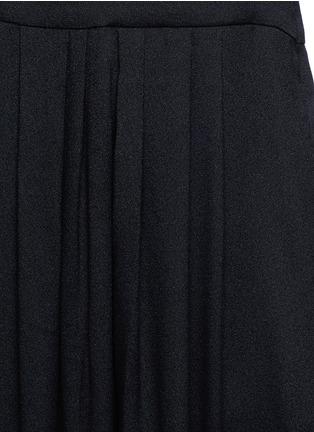 Detail View - Click To Enlarge - Isabel Marant Étoile - 'Neil' rouleau loop V-neck dress