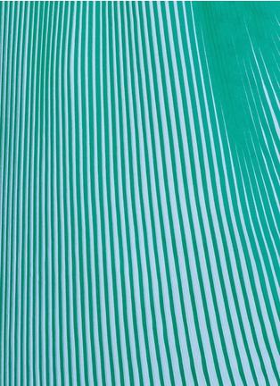 Detail View - Click To Enlarge - Stella McCartney - 'Jeanne' plissé pleat crepe georgette dress