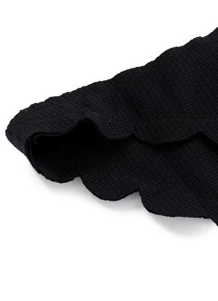 Detail View - Click To Enlarge - Marysia - 'Broadway' scalloped edge bikini bottoms