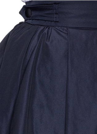 Detail View - Click To Enlarge - Moncler - 'Gonna' double layer skirt
