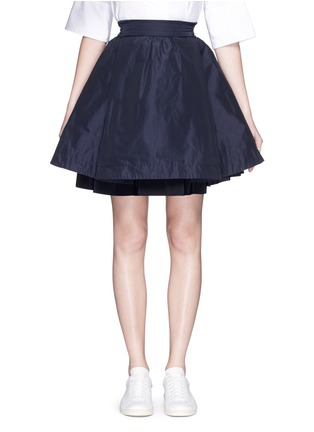 Main View - Click To Enlarge - Moncler - 'Gonna' double layer skirt