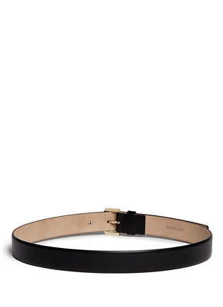 Back View - Click To Enlarge - Valentino - 'Rockstud' buckle leather belt