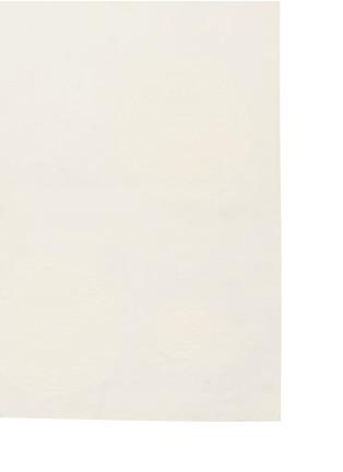Detail View - Click To Enlarge - Chloé - Foulard velvet flock silk-wool blend scarf