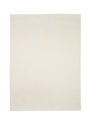 Main View - Click To Enlarge - Chloé - Foulard velvet flock silk-wool blend scarf