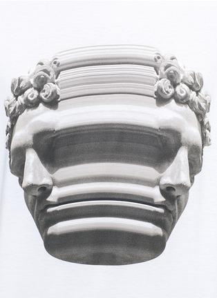 Detail View - Click To Enlarge - Neil Barrett - Stretch sculpture print T-shirt
